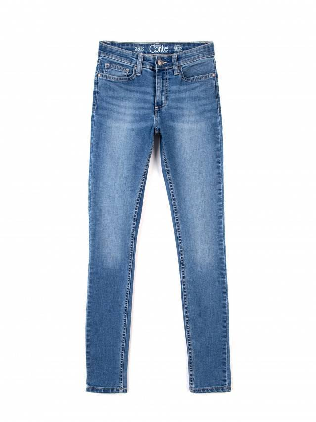 Spodnie jeansowe damskie CONTE ELEGANT CELG 4640/4915L, r.170-102, niebieski - 3