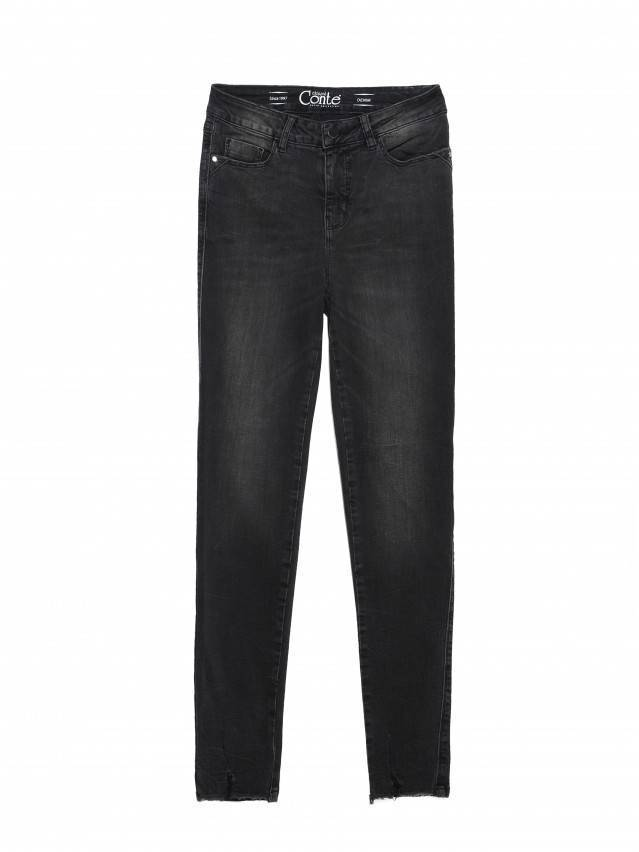 Джинсы skinny с высокой посадкой CON-171 Lycra®, р.164-94, washed black - 6