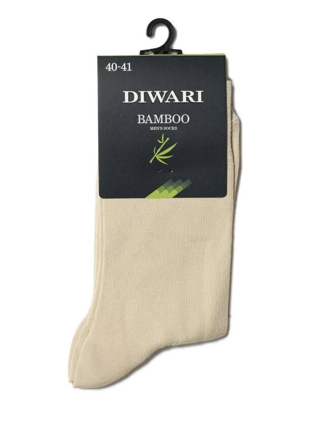 Skarpety męskie DiWaRi BAMBOO, r. 25, 000 beżowy - 2