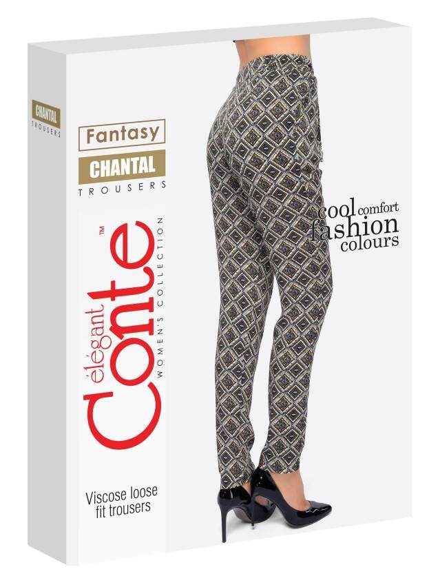 Spodnie damskie CHANTAL, r. 164-64-92, yellow - 4