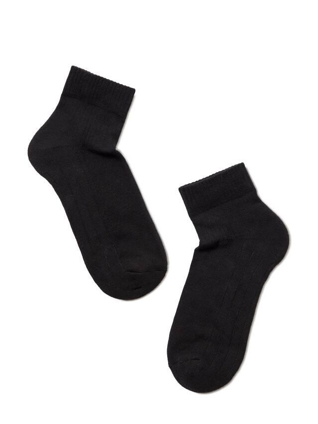 Skarpety damskie bawełniane ACTIVE (stopa frotte) 7С-56СП, r. 23, 026 czarny - 2