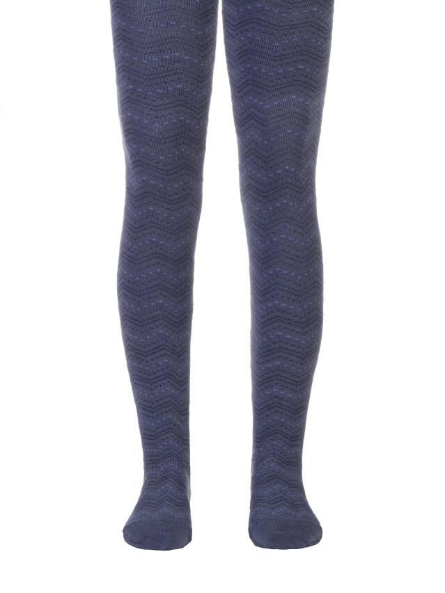 Rajstopy dla dzieci TIP-TOP, r. 150-152 (22),351 ciemny jeans - 1