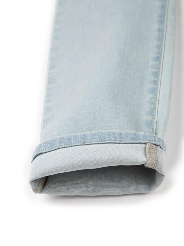 Spodnie denim CONTE ELEGANT CON-45, r.164-90, błękitny - 8