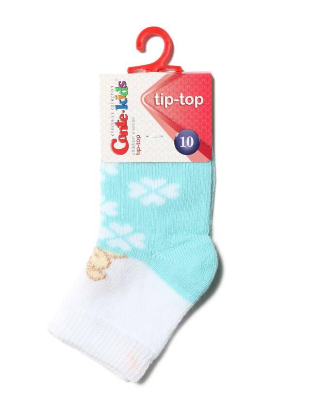 Skarpety dziecięce TIP-TOP, r. 10, 219 jasnoturkusowy - 2
