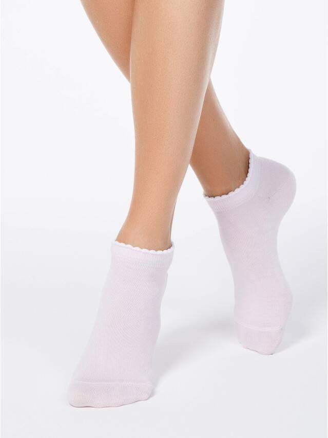 Skarpety damskie bawełniane ACTIVE(krótkie, z pikotem) 12С-45СП, r. 23, 041 jasnoróżowy - 1