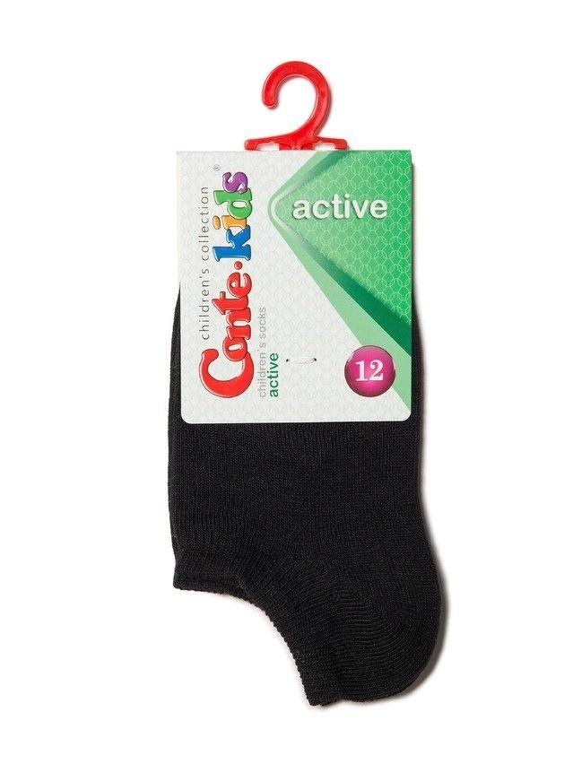 Skarpetki dziecięce ACTIVE (krtótkie) 17С-63СП, r. 18, czarny, 000 - 2