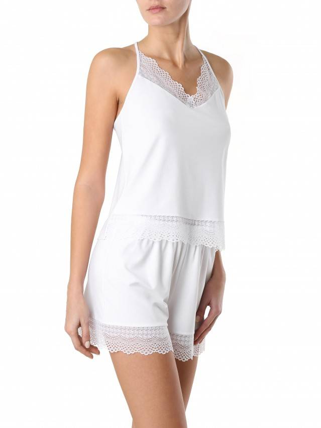 Women's shorts for home COMFORT LOUNGEWEAR LHW 990, s.170-90, white - 3