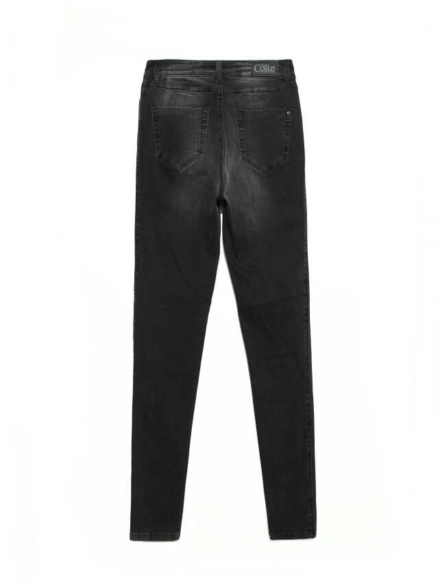 Джинсы skinny с высокой посадкой CON-171 Lycra®, р.164-94, washed black - 7
