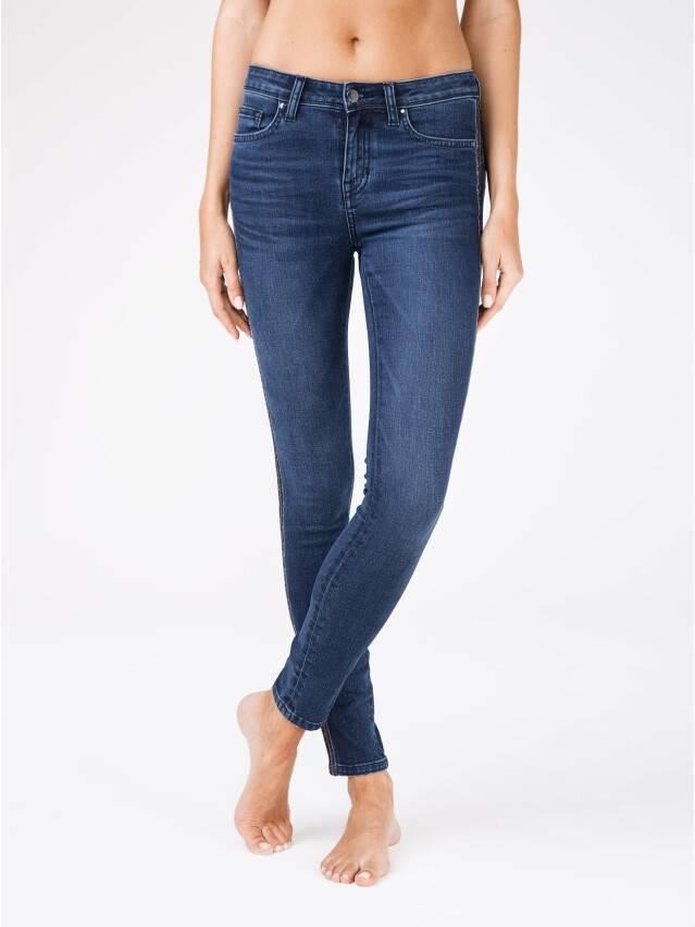 Spodnie jeansowe CONTE ELEGANT CON-99, r.170-90, ciemnoniebieski - 1