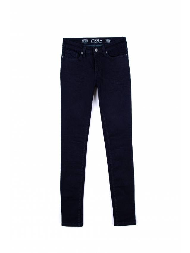 Spodnie jeansowe damskie CONTE ELEGANT 623-100R, r. 170-102, ciemnoniebieski - 3