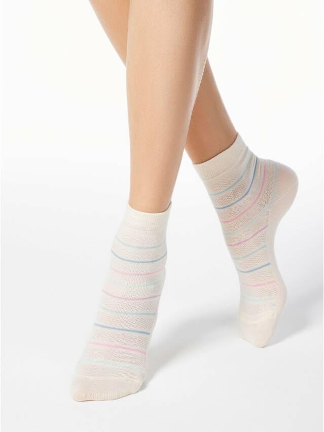 Skarpety damskie CLASSIC, bawełna 15С-15СП, r.23, 088 cappuccino - 1