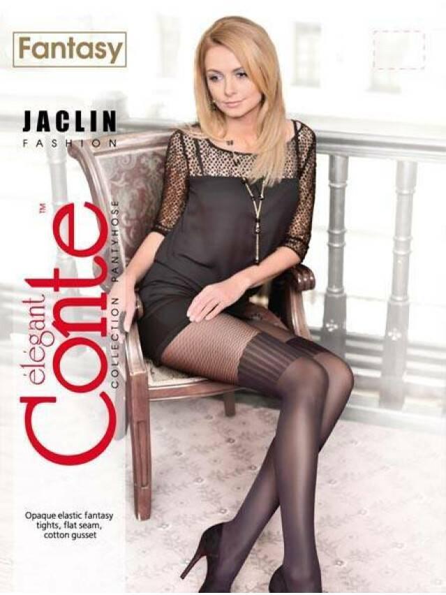 Rajstopy damskie FANTASY JACLIN, r. 2, nero - 2