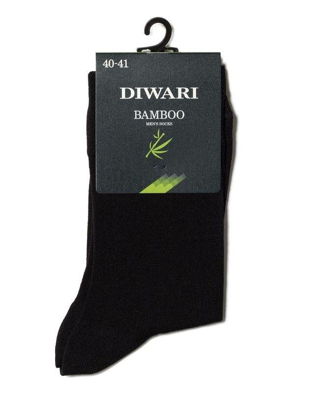 Skarpety męskie DiWaRi BAMBOO, r. 25, 000 czarny - 2