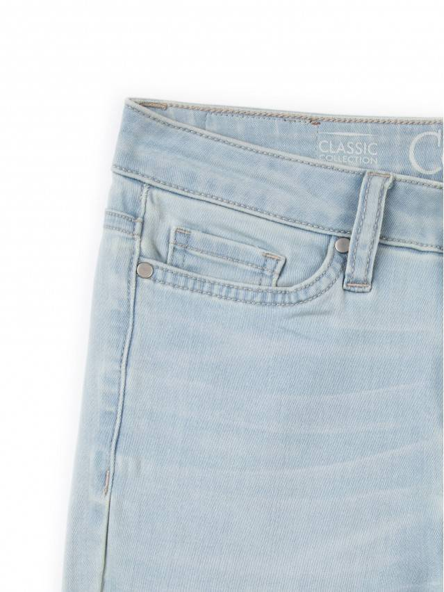 Spodnie denim CONTE ELEGANT CON-45, r.164-90, błękitny - 5