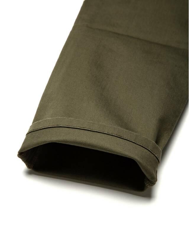 Spodnie denim CONTE ELEGANT CON-139A, r.170-94, khaki - 8