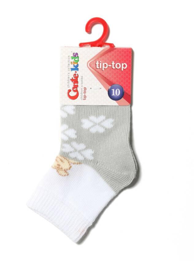 Skarpety dziecięce TIP-TOP, r. 10, 219 szary - 2