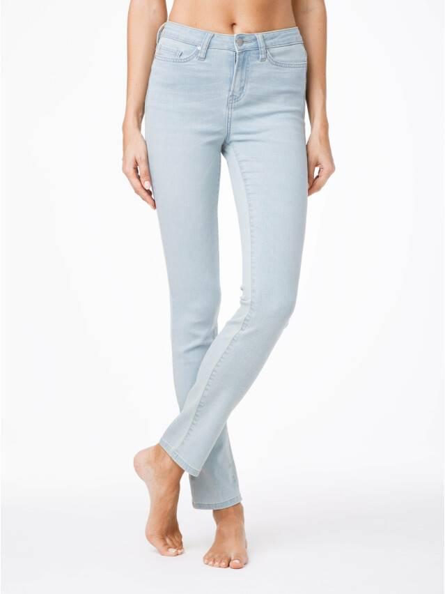 Spodnie denim CONTE ELEGANT CON-45, r.164-90, błękitny - 1
