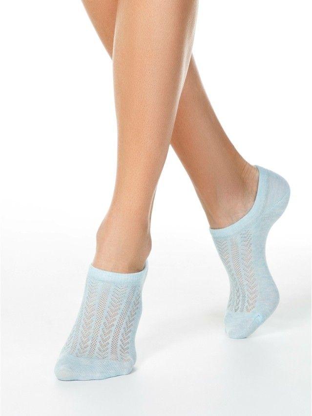 Носки женские хлопковые ACTIVE (ультракороткие) 19С-185СП, р.36-37, 179 бледно-бирюзовый - 1