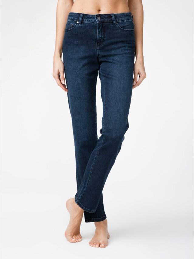 Spodnie denim CONTE ELEGANT CON-136, r.170-102, dark blue - 2