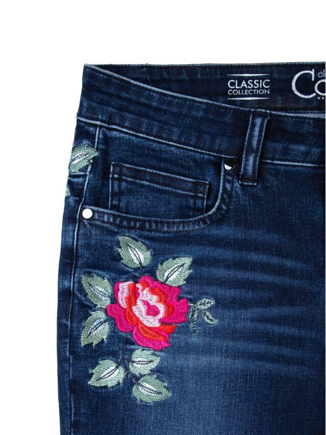Spodnie denim CONTE ELEGANT CON-53, r.170-94, ciemnoniebieski - 6