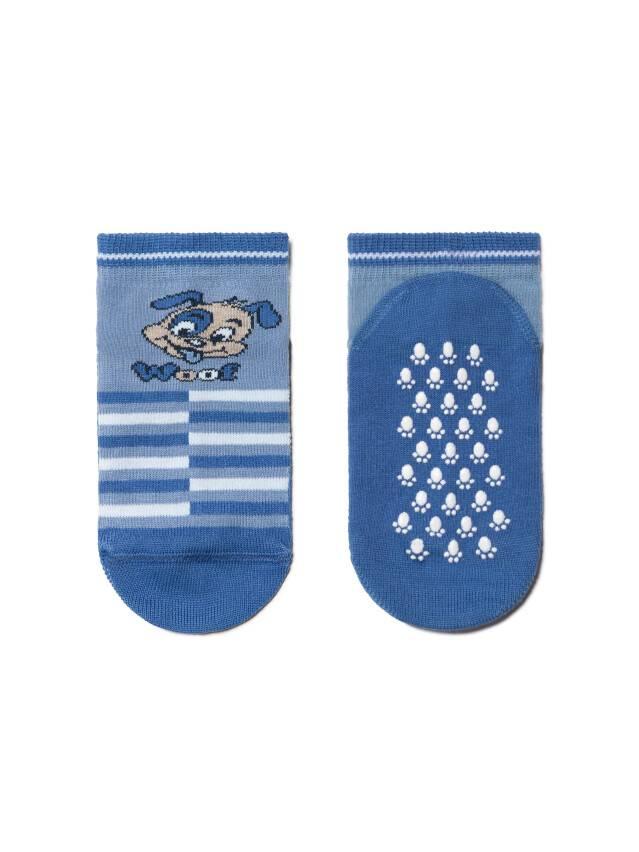 Skarpety dziecięce TIP-TOP (antypoślizgowe),r. 12, 252 niebieski - 2