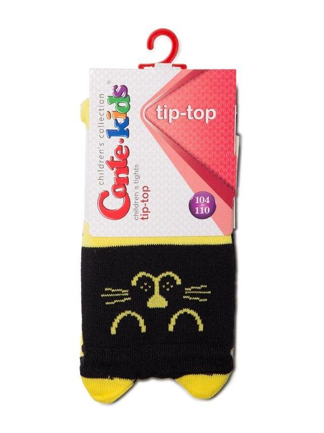 Rajstopy dziecięce CONTE KIDS TIP-TOP, r.104-110 (16),446 czarno-żółty - 2