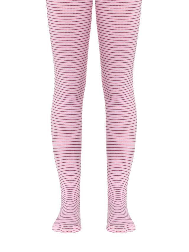 Rajstopy dla dzieci CONTE ELEGANT MARCIA, r.116-122, bordo-light pink - 1