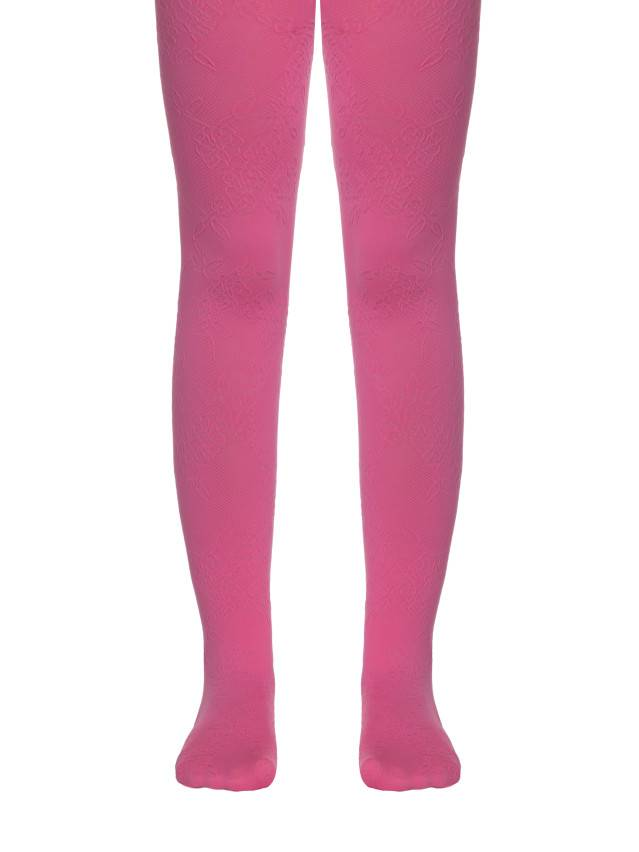 Rajstopy eleganckie dla dzieci MAGGIE, r. 104-110, pink - 1