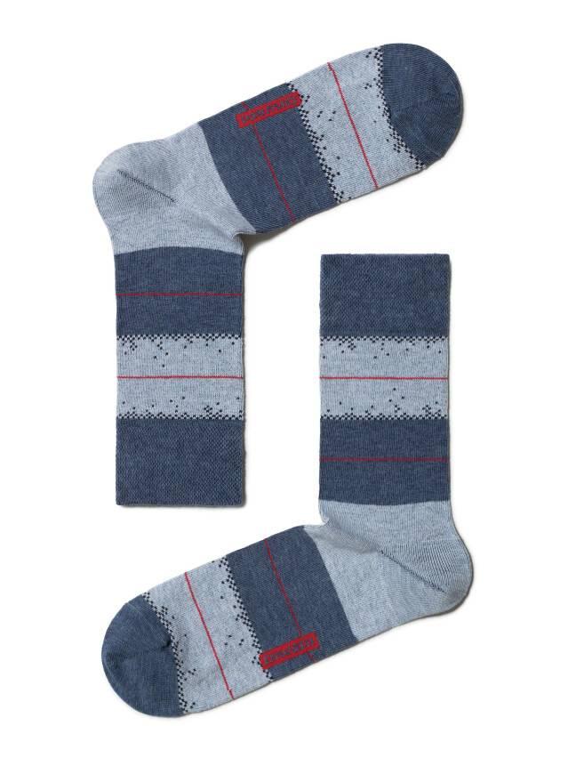 Skarpety męskie HAPPY, r. 25, 047 jeans-jasnobłękitny - 1