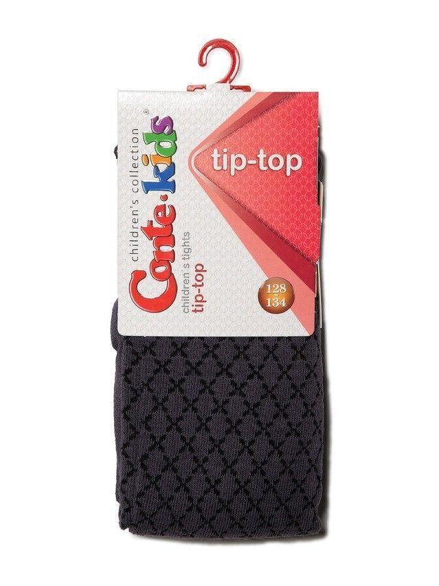 Rajstopy dziecięce CONTE KIDS TIP-TOP, r.116-122 (18),454 ciemnoszary - 2