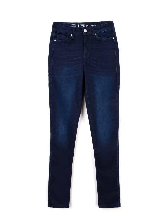Spodnie denim CONTE ELEGANT CON-82, r.170-90, ciemnoniebieski - 3