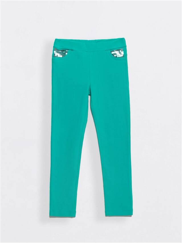 Legginsy dla dziewczynek PINA, r. 110,116-56, green - 1