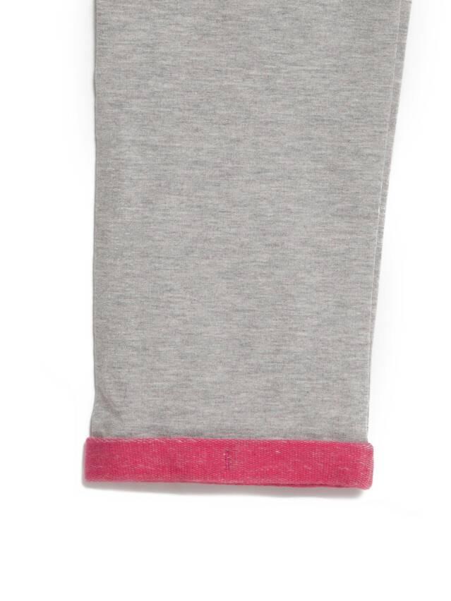 Spodnie dla dziewczynek CONTE ELEGANT JOGGY, r.110,116-56, grey-pink - 7