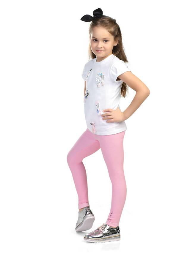 Legginsy dla dziewczynek CONTE ELEGANT FLUFFY, r.104,110-56, pink - 4