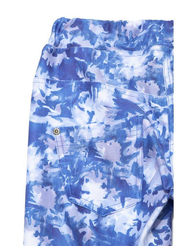 Legginsy damskie ASTER, r.164-102, blue-white - 4