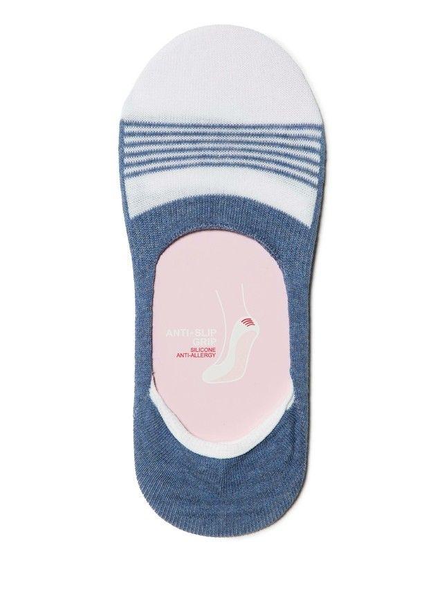 Stopki damskie bawełniane CLASSIC, r. 23, 095 jeans - 2