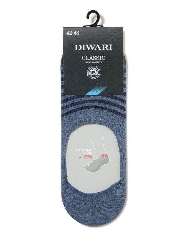 Stopki męskie bawełniane DIWARI CLASSIC,r.25, 052 jeans - 2