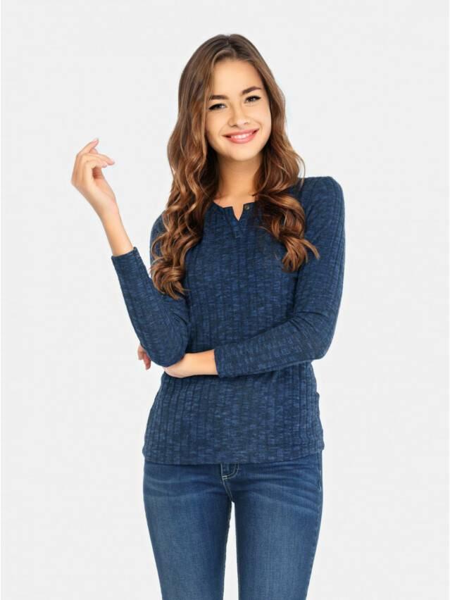 Sweter damski CELG LD 676, r.158,164-100, denim - 1