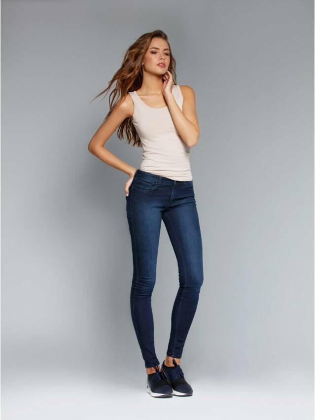 Spodnie jeansowe damskie CONTE ELEGANT 623-100D, r.170-102, ciemnoniebieski - 3