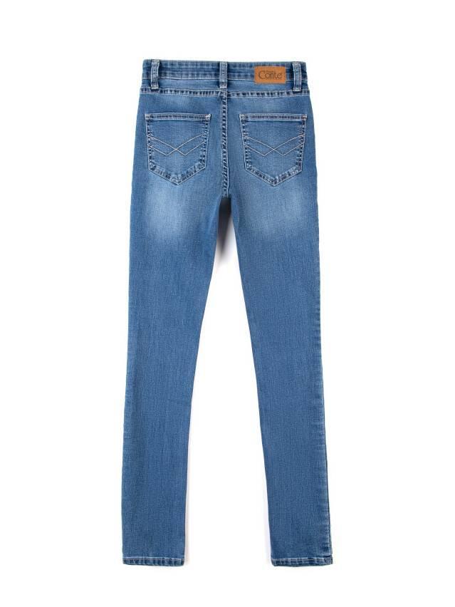 Jeansy modelujące Skinny w średnim kroju 4640/4915L 4
