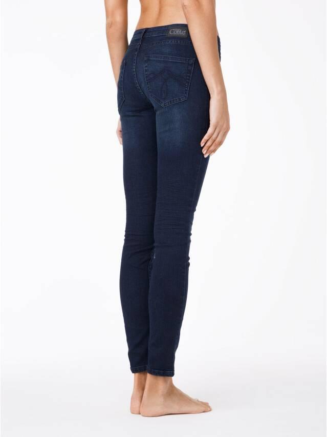 Spodnie jeansowe damskie CONTE ELEGANT 623-100D, r.170-102, ciemnoniebieski - 2