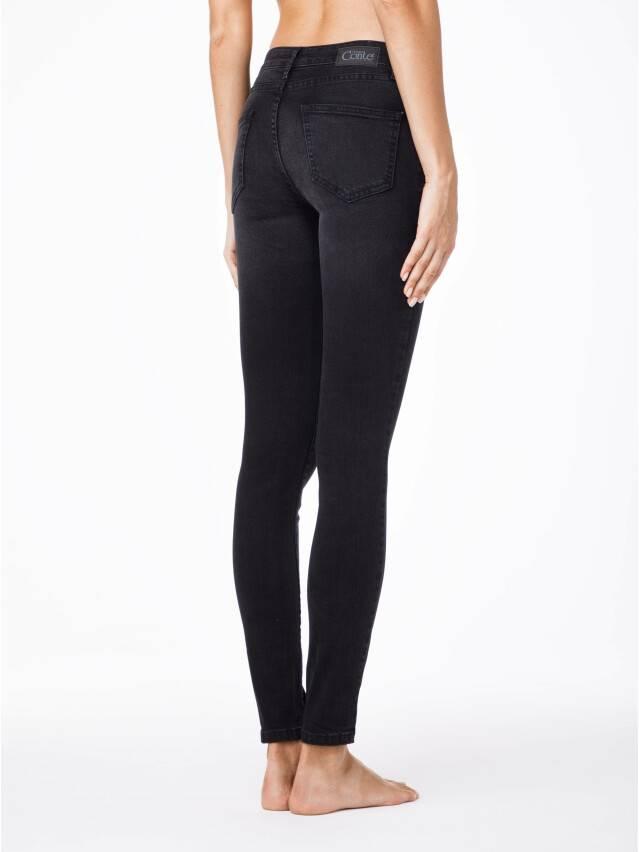 Spodnie jeansowe damskie CONTE ELEGANT 2992/4937 , r.170-102, ciemnoszary - 2