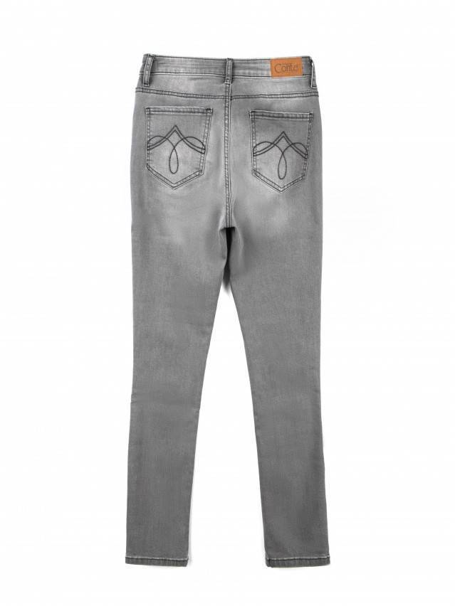 Spodnie denim CONTE ELEGANT CON-49, r.170-90, szary - 4