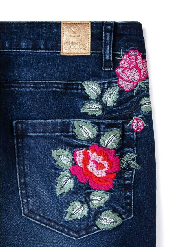 Spodnie denim CONTE ELEGANT CON-53, r.170-94, ciemnoniebieski - 8