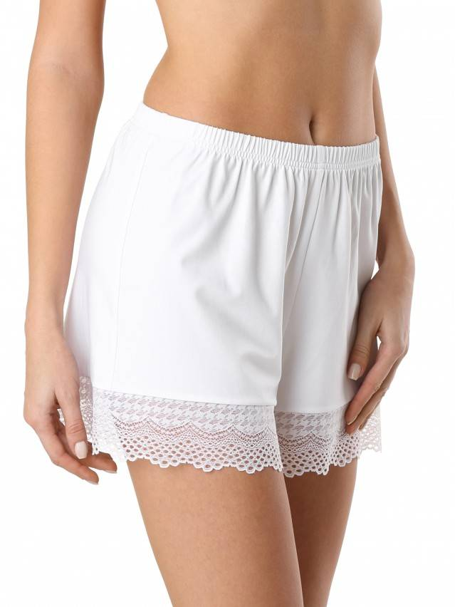 Women's shorts for home COMFORT LOUNGEWEAR LHW 990, s.170-90, white - 1