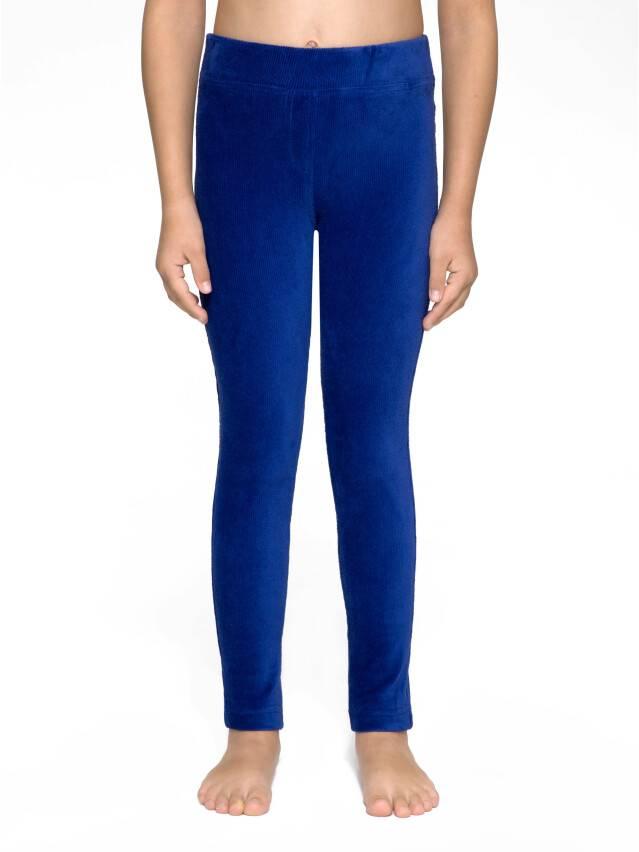 Legginsy dla dziewczynek eleganckie GISELE, r.146-76, blue - 1