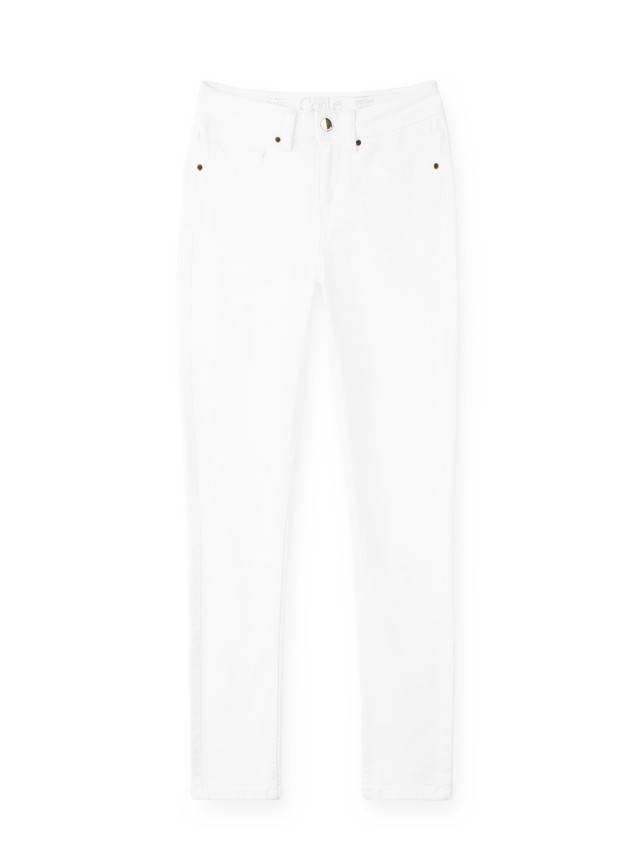 Spodnie denim CONTE ELEGANT CON-38L, r. 170-90, biały - 3