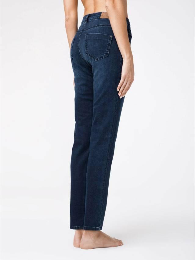 Spodnie denim CONTE ELEGANT CON-136, r.170-102, dark blue - 3