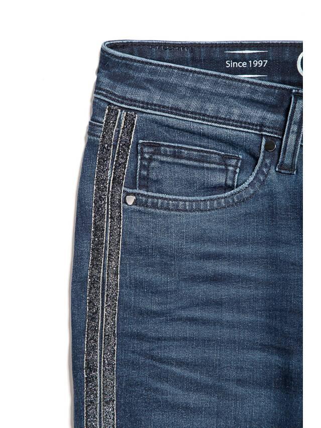 Spodnie jeansowe CONTE ELEGANT CON-99, r.170-90, ciemnoniebieski - 5
