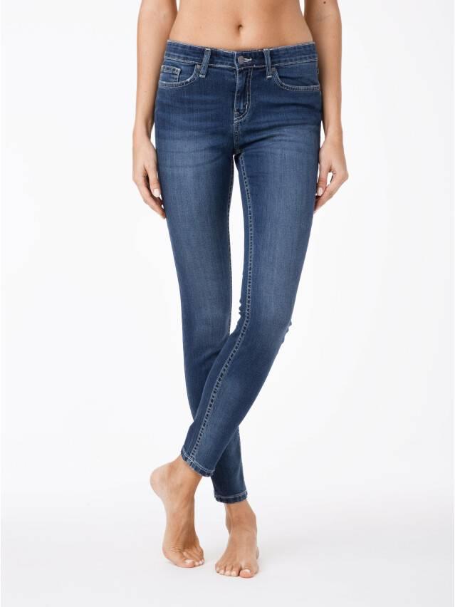 Spodnie jeansowe damskie CONTE ELEGANT 756/4909D, r.176-98, niebieski - 1